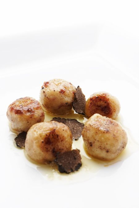Truffle potatoes