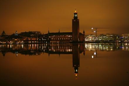 Stadshuset från vattnet