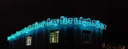 Pommery at night