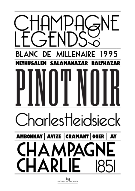 Champagne poster6 Charles Heidsieck