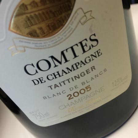 2005 Taittinger 'Comtes de Champagne Blanc de Blancs '