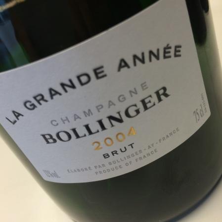 2004 Bollinger 'La Grande Année'