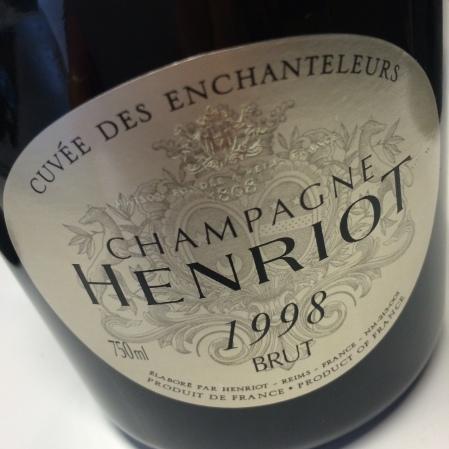 1998 Henriot 'Cuvée des Enchanteleurs'
