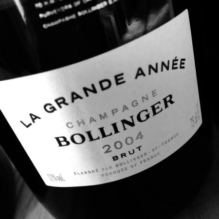 Bollinger L as Grande Annee 2004