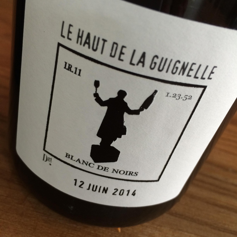 CHARLES DUFOUR 'LE HAUT de GUIGNELLE BLANC de NOIRS′