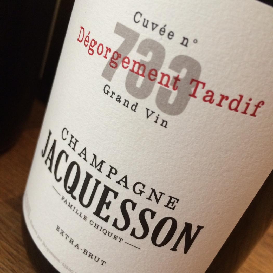 Jacquesson no733 D.T.