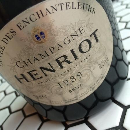 1989 HENRIOT 'CUVEE DES ENCHANTELUER'