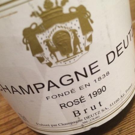 1990 Deutz 'Rosé'