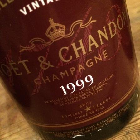 1999 Moët & Chandon 'Rosé'