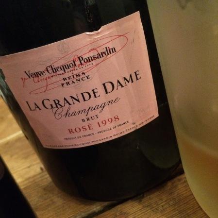 1998 Veuve Clicquot 'La Grande Dame Rosé'