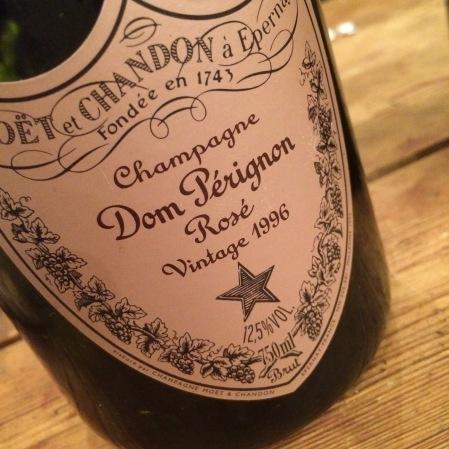 1996 Dom Pérignon 'DP Rosé'