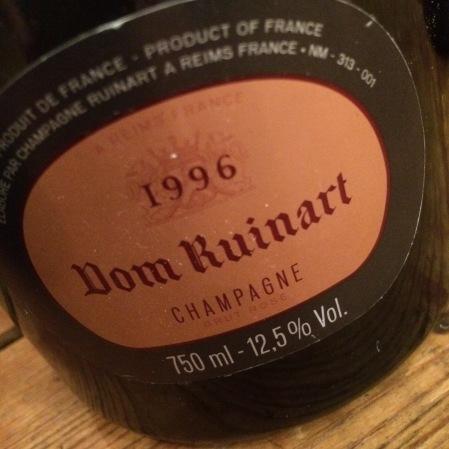 1996 Ruinart 'Dom Ruinart Rosé'