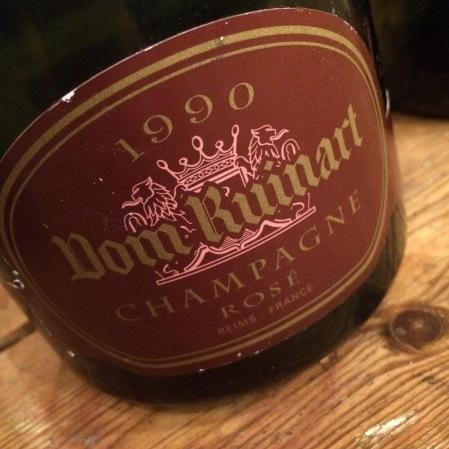 1990 Ruinart 'Dom Ruinart Rosé'