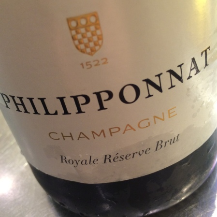 Home We had the pleasure of a visit at the Champagnebar by Richard Juhlin by export manager Antoine de Boysson från Champagne Philipponnat.   PHILIPPONNAT 'ROYALE RÉSERVE NON DOSÉ'  | 65 PN 5 PM 30 CH | Swedish importer: Spring wine & spirits (fd Spedrups Vinhandel) | price 269 SEK | Björnstierne points 85(88)  TASTING NOTE 'Base wine 2010. 40 percent of reserve wines, 8 grams of dosage. No change in the dosage the last 10 years. Disgorgement feb'14. The wine is disgorged after 3,5 years years, but is backed up by 35-40% reserve wines A paradoxical wine in which the pear-scented fruitiness is insanely intensive, like a Billecart Brut in the 80s. At the same time the finish is dry and completely unexpected with its aromatically sweet profile. A stunner in the this crisp style!'     PHILIPPONNAT 'ROYALE RÉSERVE BRUT'