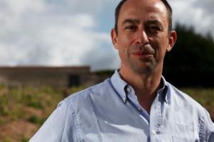 Cellar master Gilles Descôtes