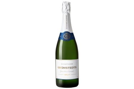 Splash Grönstedts Champagne (Konflikt med Unicode-kodning)