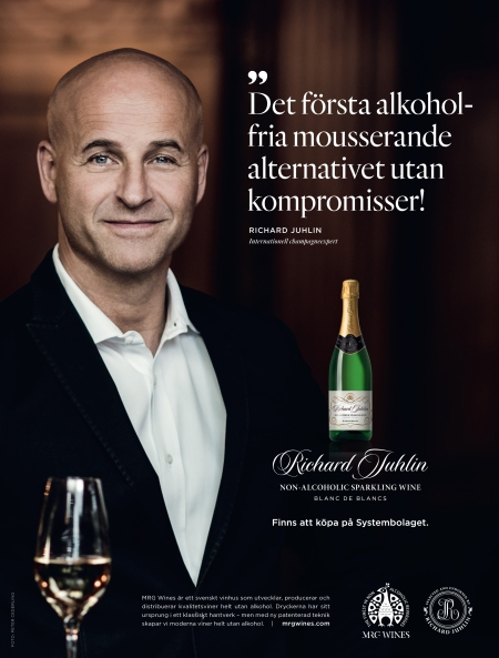 Richard Juhlin non-alcoholic 2015